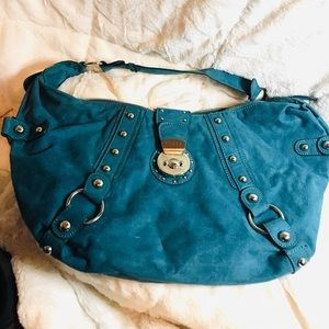 GUESS Suede Leather Hans bag/purse hobo
